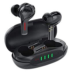 【Son immersif】 Casque Bluetooth AIKELA avec technologie de suppression active du bruit. 4 microphones peuvent supprimer efficacement le bruit ambiant d'un maximum de 38 dB et supprimer le bruit de fond jusqu'à 90%. Cela rend votre expérience d'écoute...