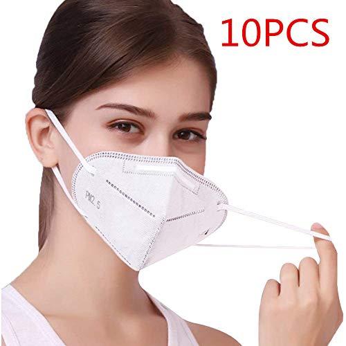 10 Stück Partikel -Atem Schutz-gerät 9-5 00- N 9 5, F-F P 2-Atem-Schutz -geräte, Schutz- ma ske, Körbchen ma-ske, Ma- sken