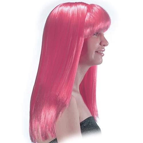 CARNIVAL TOYS S.R.L., Cosmic Girl rosa Perücke