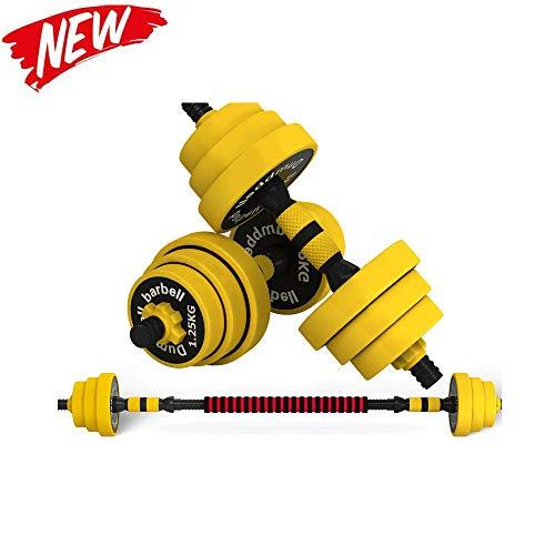 Verstellbares Hantel-set Handgewicht, Mit Soliden Hantelgriffen Für Bodybuilding Fitness Gewichtheben Training Home Gym,10kg