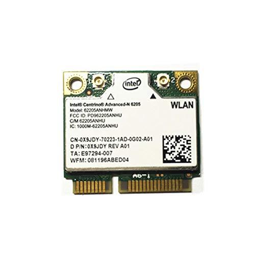 Miwaimao For Intel 6205 6205HMW Half Mini PCI-E Dual Band 2.4GHz/5GHz WLAN WiFi Wireless Card 300M