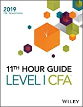 Wiley 11th Hour Guide for 2019 Level I CFA Exam