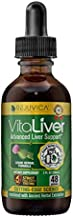 VitaLiver Liver-Health Cleanse and Detox Supplement with Milk Thistle - All-Natural Liquid for 2X Absorption - Chanca Piedra, Dandelion, Artichoke and More
