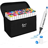 80-Colors Perfact Permanent Alcohol Art Markers Set for Painting