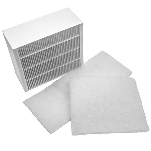 vhbw 3x Ersatz Luft-Filter Grobfilter + Feinfilter passend für Vallox ValloPlus 270 MV, 270 SC, 270 SE Lüftungsgerät