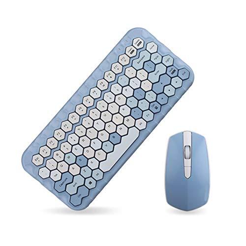 WYSSS Drahtloses Tastatur- Und Maus-Set,...