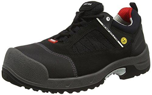 Ejendals 3018–43Größe 109,2cm Jalas 3018Zenit Sicherheit Schuhe–Schwarz/Grau/Rot