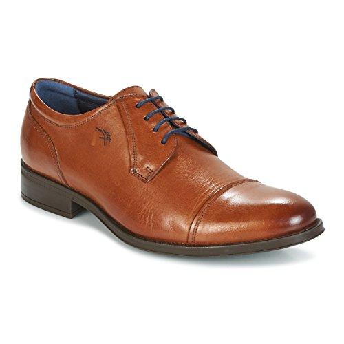 Zapato de Vestir Puntera Recortada - Fluchos 8412