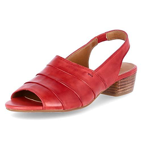 Everybody Sandaletten Größe 39 EU Rot (Rot)