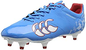 canterbury Men's Speed Elite 6 Stud Rugby Boots, Blue (A60), 12 UK from Canterbury