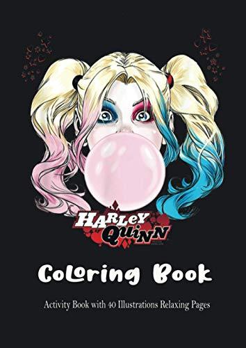 41n3pVFjpYL Harley Quinn Coloring Books