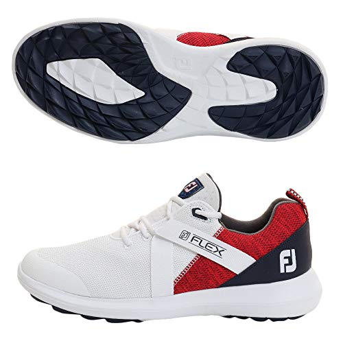 FootJoy FJ FJ Flex 56104 8.5 M White Red Blue