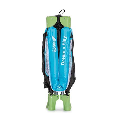 Hauck Kinderreisebett Dream N Play / inklusive Einlageboden und Tasche / 120 x 60cm / ab Geburt / tragbar und faltbar, Wasser (Blau) - 16