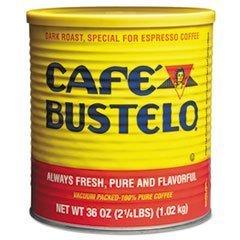 Cafe Bustelo dark roast,special for Espresso Coffee,36oz by Cafe Bustelo