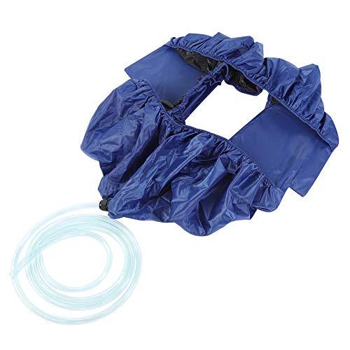 Changor Cubierta de Aire Acondicionado, protección de Circuito de Tela Oxford 120 cm acondicionador de Limpieza Impermeable