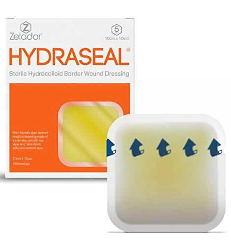 Hydrocolloid Dressing - 10cm x 10cm (x5)