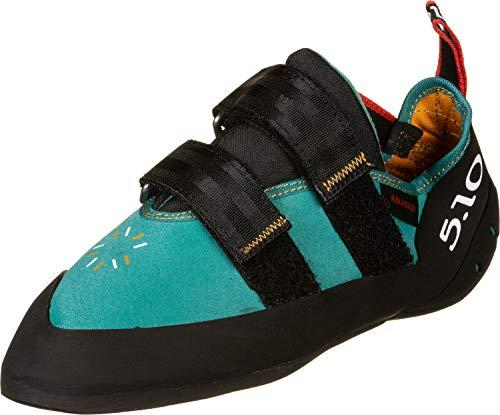 adidas Damen Anasazi Lv W Leichtathletik-Schuh, AGACOL/SCHWARZ/ROT, 38 2/3 EU