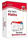 New KS2 Maths SATS Revision Question Cards: ideal for year 6 catch-up at home (CGP KS2 Maths SATs)