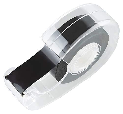 Magnetklebeband selbstklebend mit Abroller (5m) - Magnetband für Schule (Tafel/Whiteboard/Kühlschrank) - Magnetklebestreifen ablösbar zum aufkleben (1)