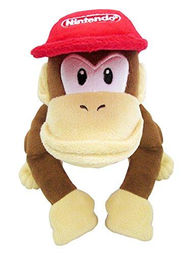 Super Mario ALLSTAR COLLECTION Stofftier Kuscheltier Plüsch Figur Plüschtier: Diddy Kong 18cm