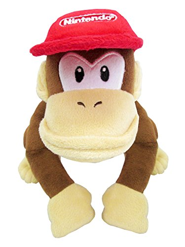 Super Mario ALL STAR COLLECTION Diddy Kong (S) stuffed height 18cm AC21
