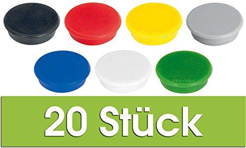 Franken HM20 99 Magnet, 24 mm, 300 g, sortiert, 20 Stück