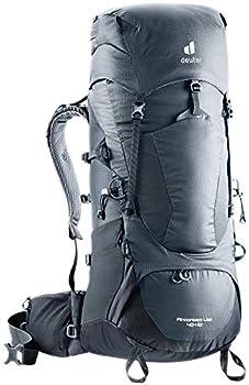 deuter AircontactLite Sac à dos de trekking, Mixte Adulte, Gris (Graphite/Noir), 50L