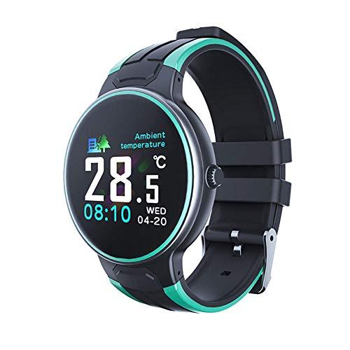 Reloj inteligente Z8S con termómetro de frecuencia cardíaca Seguimiento de salud impermeable hombre y mujer relojes deportivos para Android4 4 y superior Ios8 5 o superior Exquisite-A-E-e