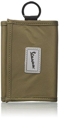 Vespa Footwear Trip, Unisex-Geldbörse für Erwachsene, Grün (Militärgrün), 12 x 9 x 1 cm (B x H x L)