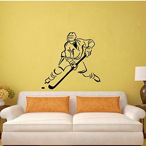 52 CM * 50 CM Beste Hockey PVC Wandaufkleber benutzerdefinierte küche und gym dekoration hohe qualität