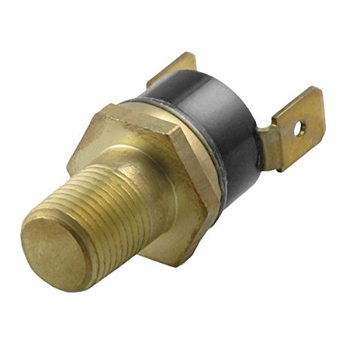 American Volt Electric Radiator Fan Ground Thermo Switch 1//8 1//4 3//8 1//2 Inch NPT Temp Sensor Thread-in Brass Probe 3//8 NPT, 190F On - 175F Off