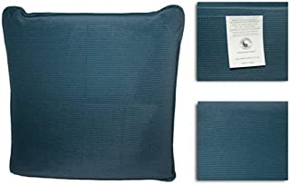 HealthmateForever Pressure Activated Massage Pillow (Slate Blue) HealthmateForever High Quality Pulsating Vibrating Relaxation Pillow   Can be Used as a Sciatica Nerve Cushion to Treat Sciatic Pain
