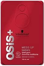 Schwarzkopf Professional OSiS+ Mess Up Texture Matt Gum, 3.38 Ounce