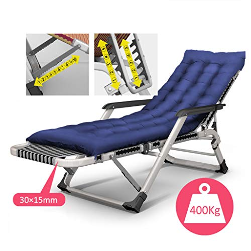 Patio Lawn Garden Sun Loungers Oversize XL Padded Zero Gravity Mesh Lounge Chair Black Wider Armrest Adjustable Recliner with Mat, Support 400 Lbs