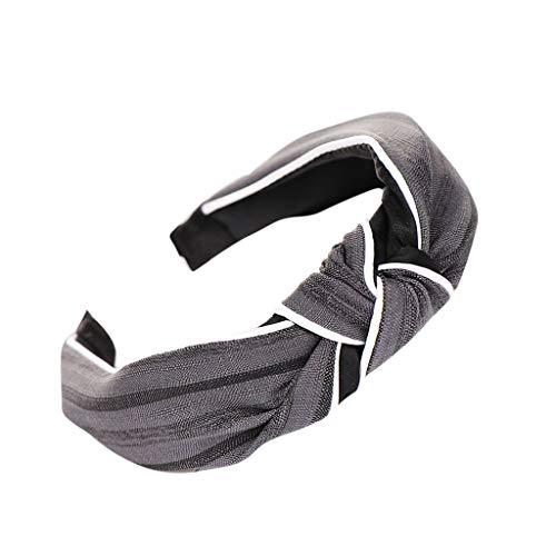 POachers Bandeaux à cheveux élastique pour femme Bandeau Turban Bandeau à Cheveux Noué Bandanas Head Bow Knot Bandeau