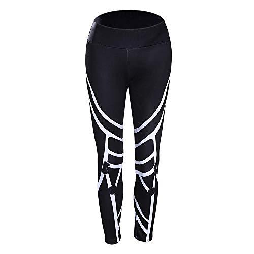 RRUI Dames Sport Panty & Leggings sport panty Streamer streep lente en zomer nieuwe gedrukte fitness broek zwart hip running broek vrouwen