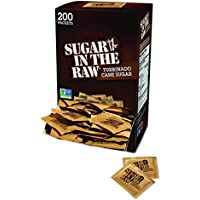 200-Pack Sugar In The Raw Cane packet, 0.2 oz