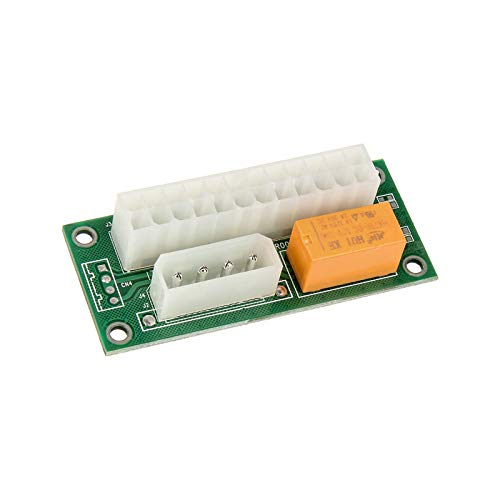 Kolink Adaptador de Fuente de alimentación Dual/Multi para sincronizar Fuentes de alimentación