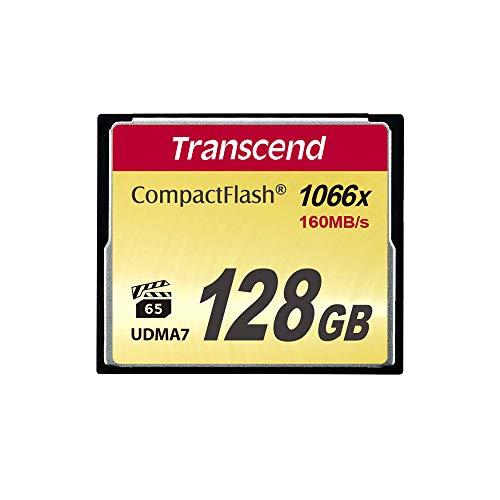 Transcend TS128GCF1000 - Tarjeta de Memoria Compact Flash de 128 GB (Ultimate)