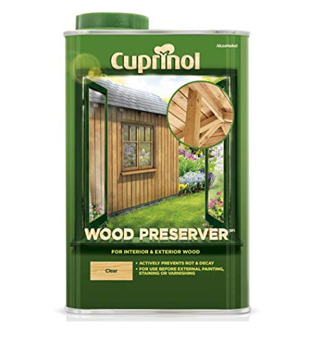Cuprinol 5083486 Wood Preserver Clear (Bp) Exterior Woodcare