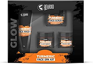 Beardo Turmeric Face Spa Kit for Men