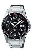 Casio Reloj Analógico para Hombre de Cuarzo con Correa en Acero Inoxidable MTP-1291D-1A1VEF