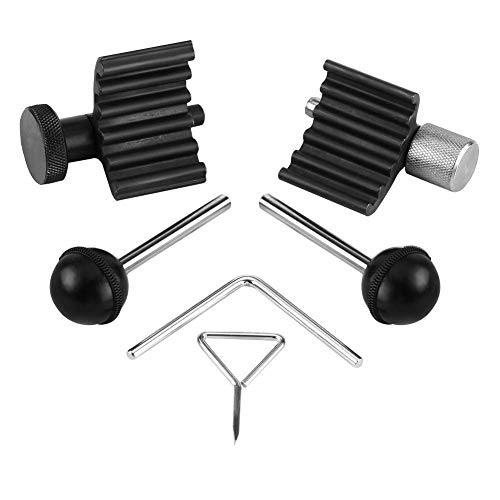 NMDD Dieselmotor-Timing-Tool-Kit, 6-TLG. Dieselmotor-Timing-Kurbelverriegelungs-Werkzeugsatz für 1,2 1,4 1,9 2,0 TDI PD