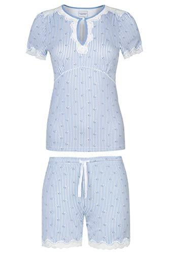 Vive Maria Sea of Flowers Pyjama Blau Allover, Größe:M
