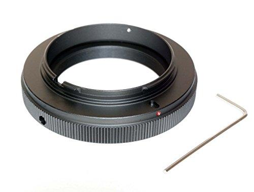 Adaptador para objetivos T2/telescopio a Sony Alpha (montura A, sirve para toda la línea Alpha como a77, a33, a390, a580, etc.)