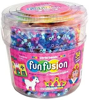 Perler Beads Magical Princess Fuse Bead Bucket Craft Activity Kit, 8504 pcs