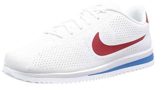 Nike Cortez Ultra Moire, Zapatillas de Deporte para Hombre, (White/Varsity Red-Varsity Blue), 43 EU