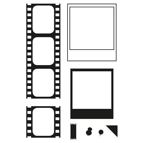 efco Stempel Clear Film A7 / 74 x 105 mm 8 - teilig transparent
