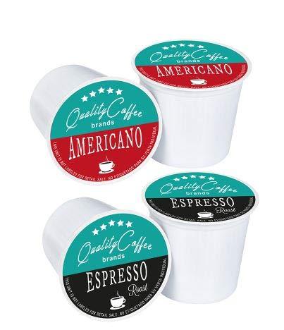 Capsulas Keurig marca QUALITY COFFEE BRANDS