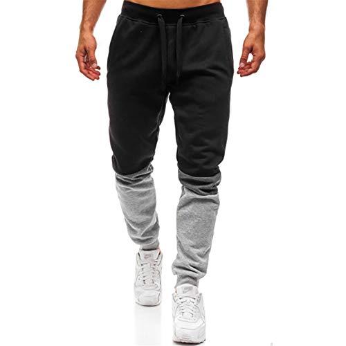 Pantalones Deportivos A Juego De Color Suelto para Hombres De Primavera Y Otoño, Pantalones De Algodón con Bolsillo Casual, Pantalones De Viaje para Escalar Montañas